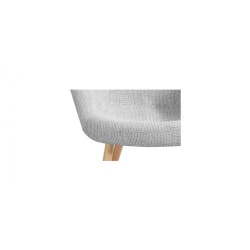 acheter chaise tissu gris