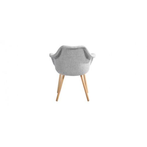 chaise tissu grise prix usine