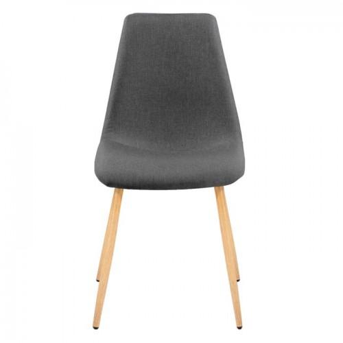 chaise aleksi grise lot de 2 dcouvrez nos chaises aleksi grises lot de 2 prix dusine rdv dco - Chaise Scandinave Grise