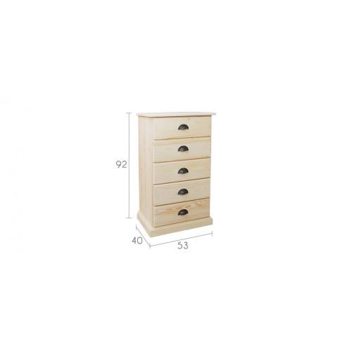 tiroir bois brut great caisson with tiroir bois brut fabulous chevet tiroirs xxcm en bois brut. Black Bedroom Furniture Sets. Home Design Ideas