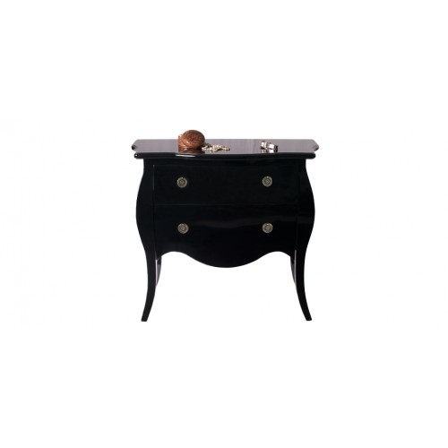 commode noire brillante achetez nos commodes noires brillantes rdvd co. Black Bedroom Furniture Sets. Home Design Ideas