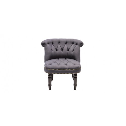 fauteuil crapaud capitonn gris fonc commandez nos fauteuils crapaud capitonn s gris fonc. Black Bedroom Furniture Sets. Home Design Ideas