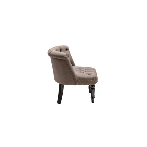 fauteuil crapaud capitonn taupe testez nos fauteuils crapaud capitonn s taupe design rdv d co. Black Bedroom Furniture Sets. Home Design Ideas