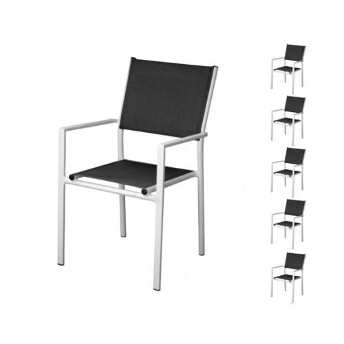fauteuil de jardin terra blanc
