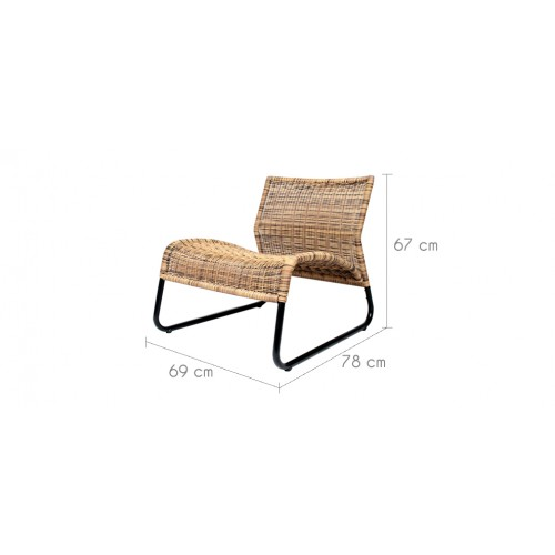 fauteuil ampara en r sine tress e commandez nos. Black Bedroom Furniture Sets. Home Design Ideas