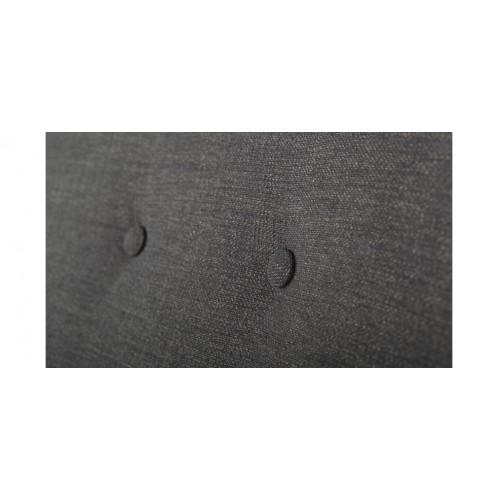 fauteuil gris pied bois bis