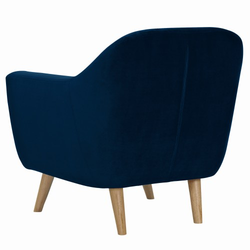 fauteuil rio en velours bleu fonc commandez les fauteuils rio en velours bleu fonc rdv d co. Black Bedroom Furniture Sets. Home Design Ideas