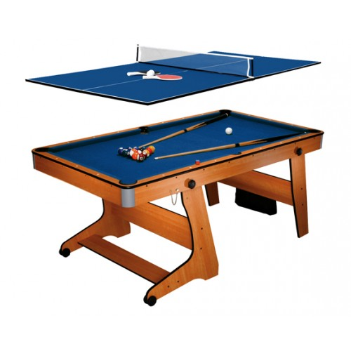 Table multi-jeux 3 en 1 pliable BCE
