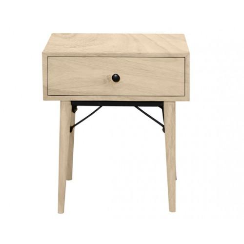 achat table chevet bois