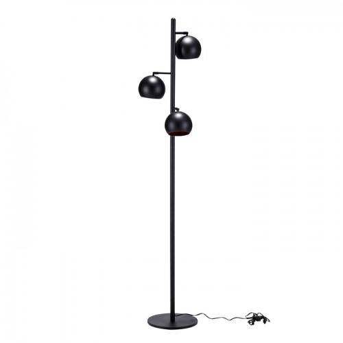 lampadaire boule noir et cuivre commandez nos lampadaires boule noir et cuivre design rdv d co. Black Bedroom Furniture Sets. Home Design Ideas