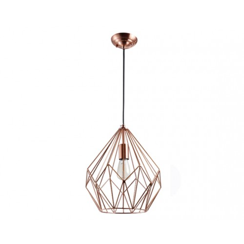 lampe suspension wire cuivre