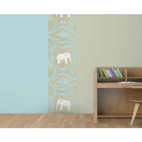 le bleu kaki elephant
