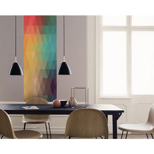le motifs multicolors