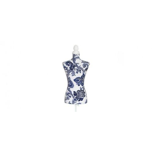 mannequin couture tissu imprime prix bas
