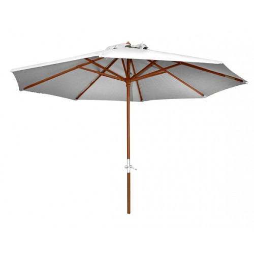 parasol en bois biarritz ecru