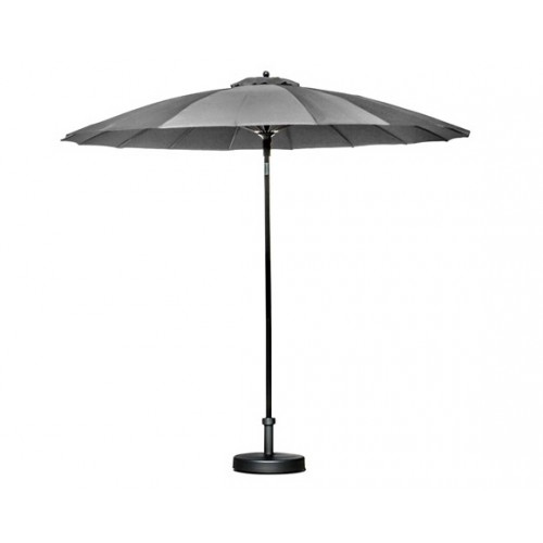 parasol pagoda gris foncé