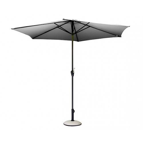 parasol terrasse gris
