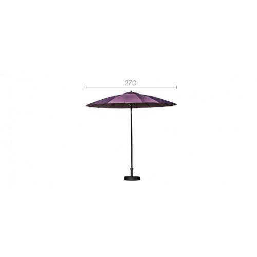 parasol manila violet adoptez nos parasols manila violets prix usine rendez vous d co. Black Bedroom Furniture Sets. Home Design Ideas