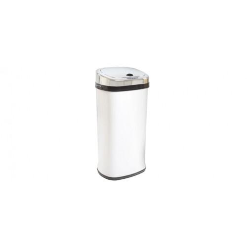 poubelle design blanche