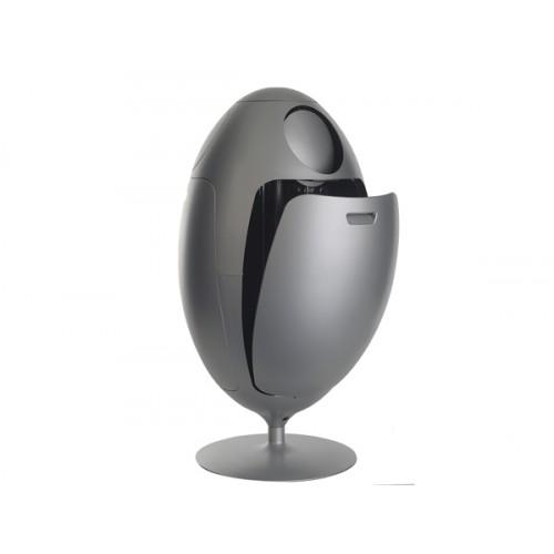 poubelle tri Ovetto gris 3