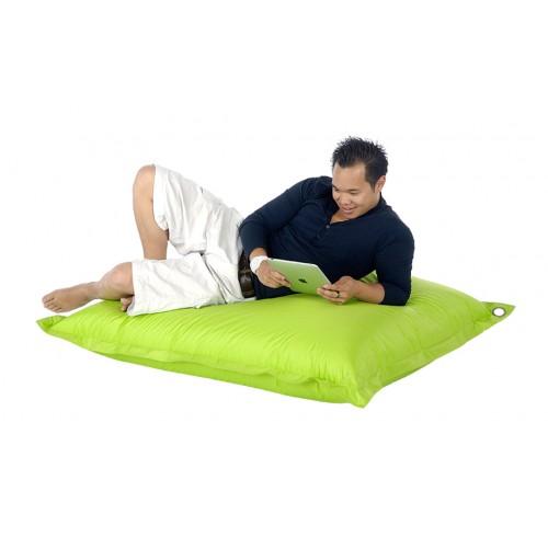 pouf quadri vert 1