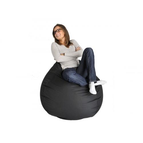 pouf poire noir sautez sur nos poufs noirs rendez vous d co. Black Bedroom Furniture Sets. Home Design Ideas