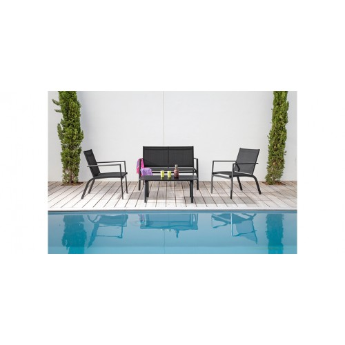 Salon de jardin Sevilla gris : commandez nos salons de jardin ...