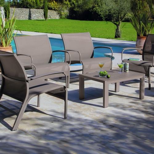 Set lounge linea royal gris