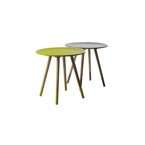 table basse art jaune bois achat