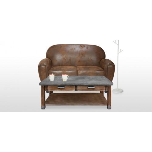 Table basse en zinc achetez nos tables basses en zinc - Table basse petit prix ...