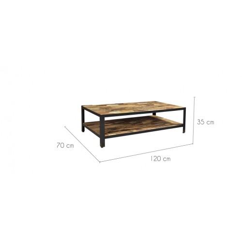 Table basse arati rectangulaire d couvrez les tables - Table basse petit prix ...