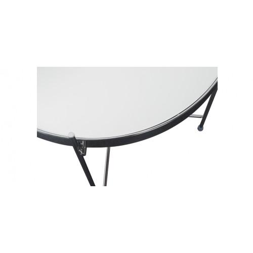 Table basse en m tal valdo chrome d couvrez nos tables - Table basse petit prix ...