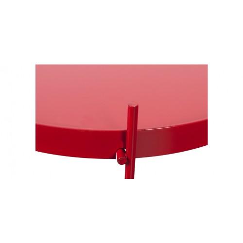 Table basse en m tal valdo rouge d couvrez les tables - Table basse petit prix ...