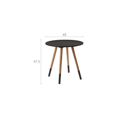 table basse ronde noire prix usine
