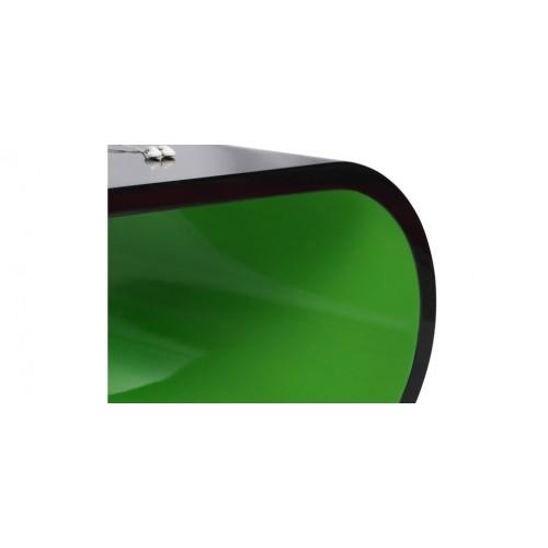 table basse verte et noire petit prix