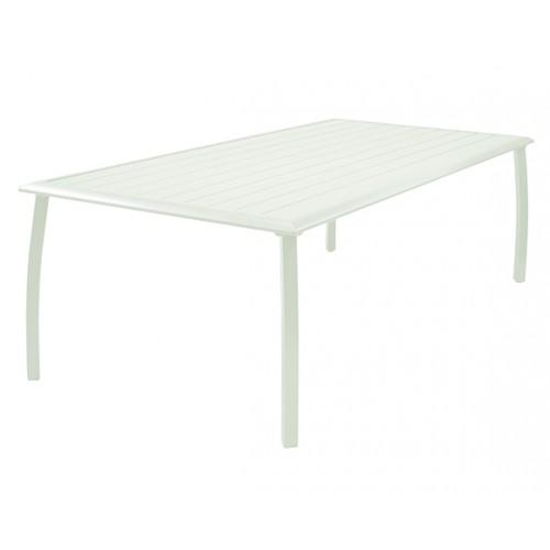 table de jardin blanche prix bas