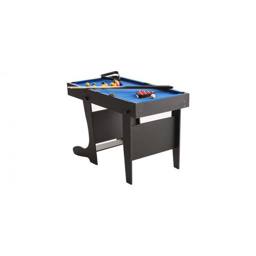 table multi jeux pliable noir billards. Black Bedroom Furniture Sets. Home Design Ideas
