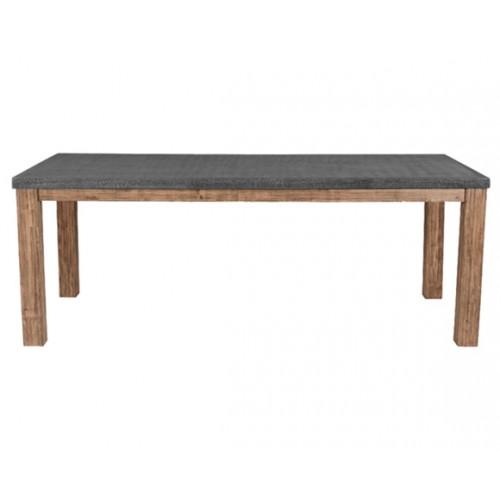 Table rectangulaire Stromboli Lavastone 180 cm