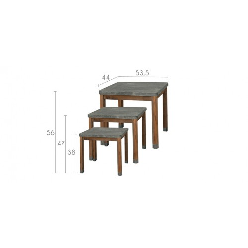Table gigogne en bois achetez nos tables gigognes en - Table basse petit prix ...