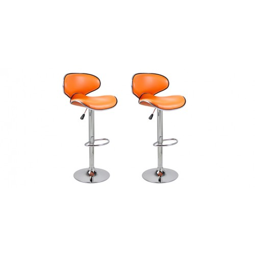 tabouret orange simple helloshop lot de tabourets with tabouret orange tabouret de bar design. Black Bedroom Furniture Sets. Home Design Ideas