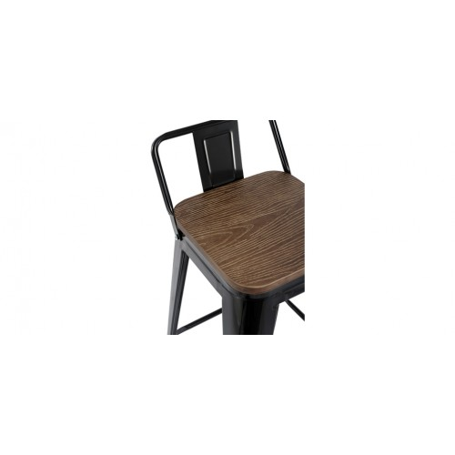 tabouret de bar kisa noir lot de 2 commandez nos tabourets de bar kisa noirs lot de 2 rdv d co. Black Bedroom Furniture Sets. Home Design Ideas