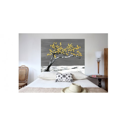 t te de lit renaissance jaune adoptez nos t tes de lit. Black Bedroom Furniture Sets. Home Design Ideas