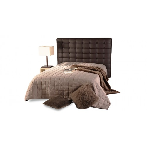t te de lit chesterfield marron capitonn e pour lit 2. Black Bedroom Furniture Sets. Home Design Ideas