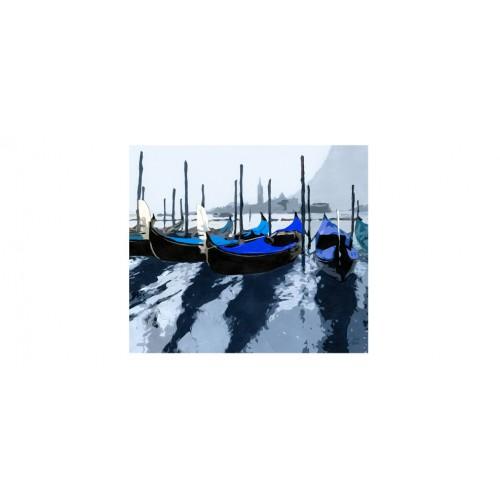 t te de lit gondoles venise bleue adoptez nos t tes de lit gondoles venise bleues prix bas. Black Bedroom Furniture Sets. Home Design Ideas
