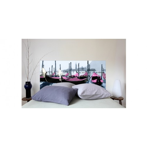 t te de lit gondoles venise rose petit mod le. Black Bedroom Furniture Sets. Home Design Ideas