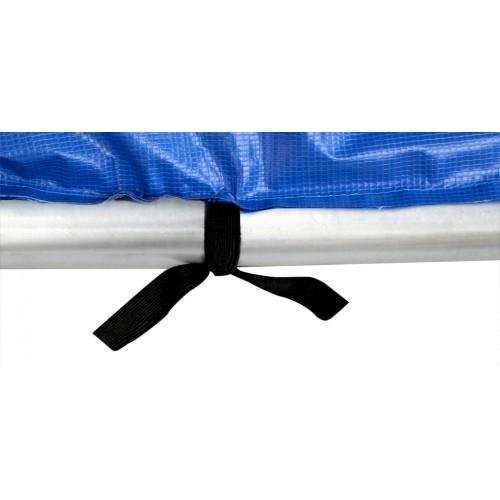 trampoline bleu 244 cm promo