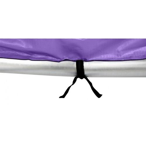 trampoline violet 305 cm avec filet pas cher
