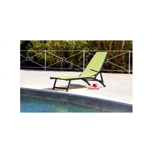 transat avec accoudoirs lombok jaune lime d couvrez les transats lombok jaune lime prix. Black Bedroom Furniture Sets. Home Design Ideas