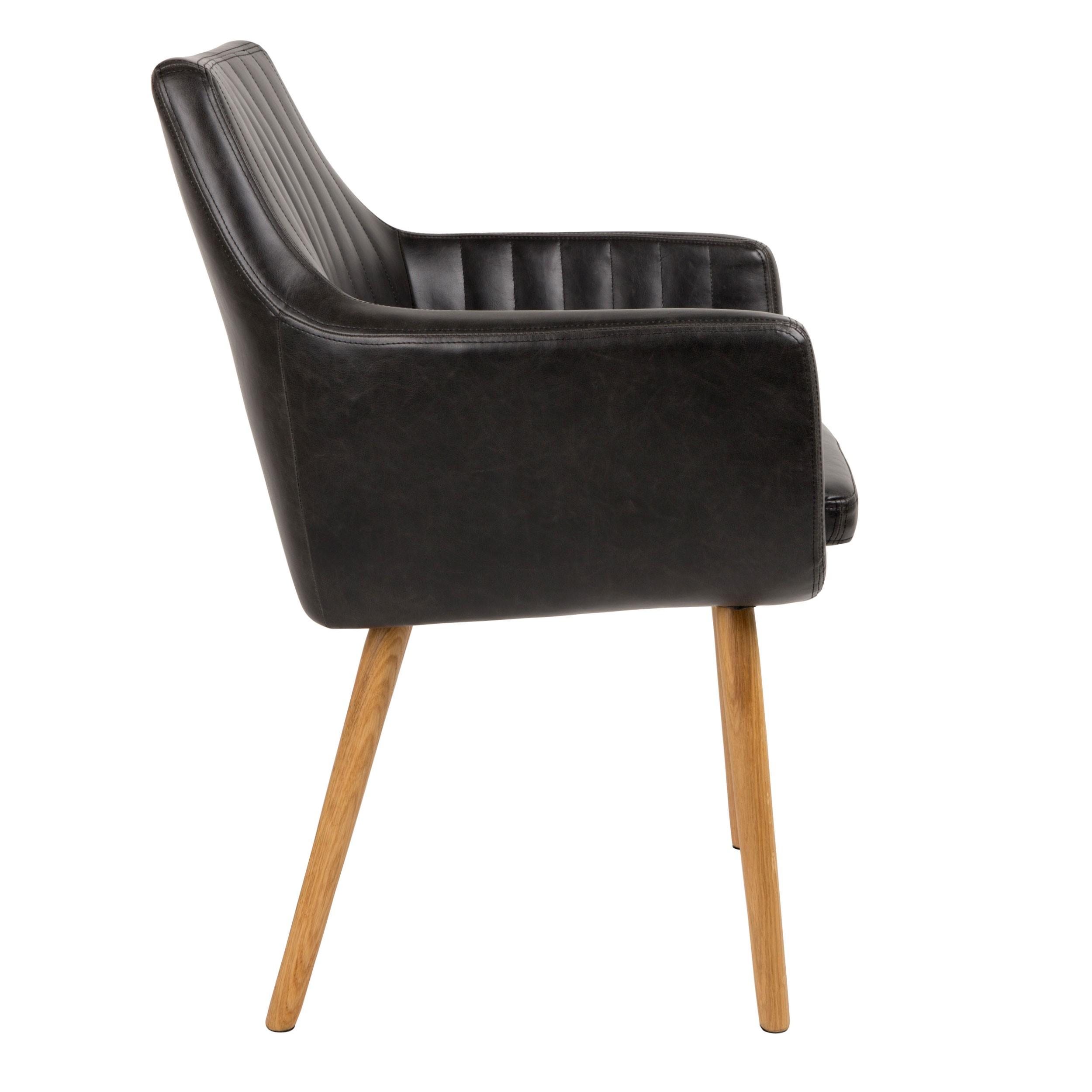 acheter chaise cuir noir previous - Chaise Cuir Noir