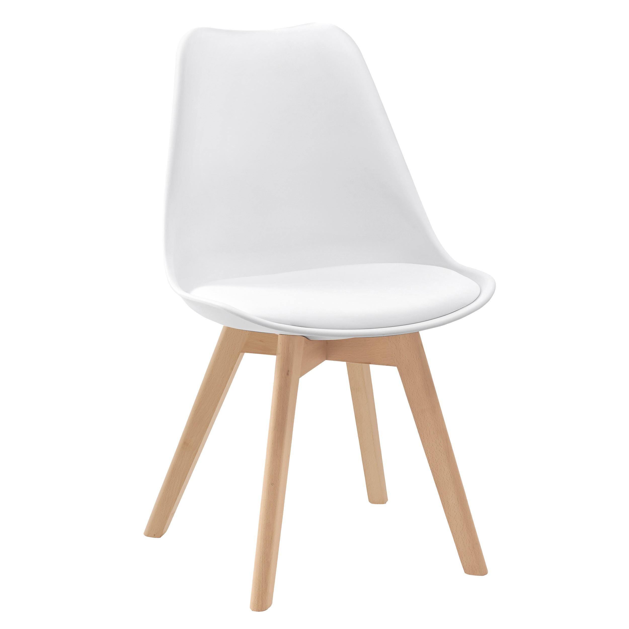 Chaise scandinave lot de 2 commandez nos chaises for Chaise 1er prix